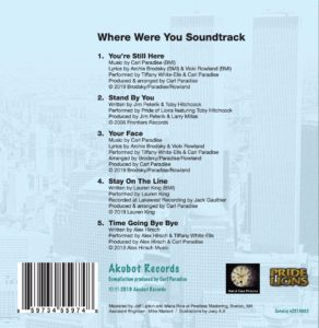 Where Were You Soundtrack back cover